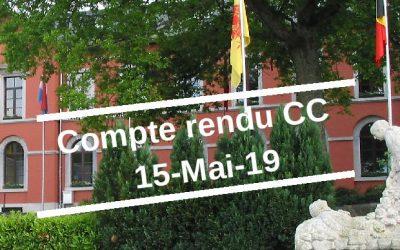 Compte rendu CC 15-Mai-19